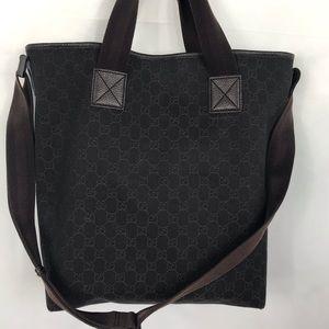 Gucci Tote w/ Crossbody Strap